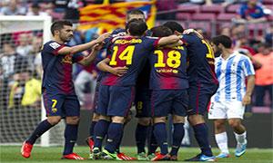 Barcelona 4-1 Malaga