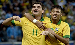 Brazil 3-0 France