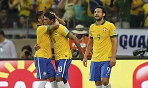 Brazil 2-1 Uruguay