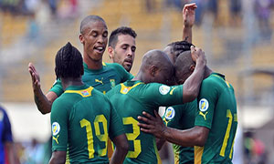 Central African Republic 0-3 South Africa
