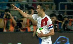 China 0-2 Netherlands
