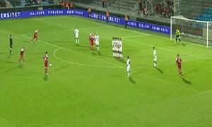 Denmark2-1 Georgia