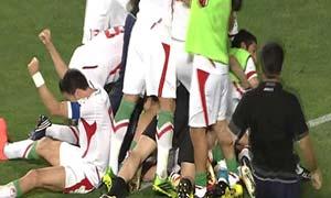 South Korea 0-1 Iran
