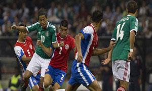 Mexico 0-0 Costa Rica