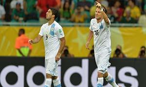 Nigeria 1-2 Uruguay