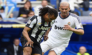 Real Madrid Legends 2-1 Juventus Legends