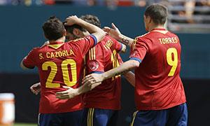 Spain 2-1 Haiti