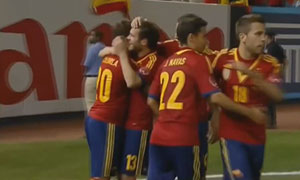 Spain 2-0 Republic of Ireland