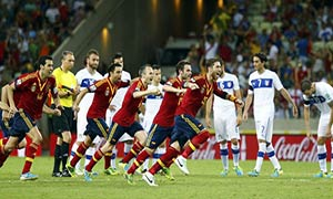 Spain 0-0 (7-6) Italy