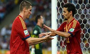 Spain 10-0 Tahiti