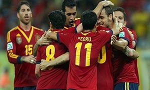 Spain 2-1 Uruguay