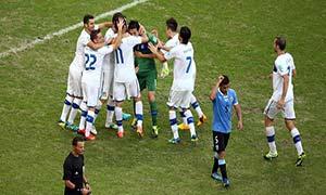 Uruguay 2-2 (2-3) Italy