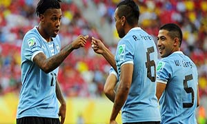 Uruguay 8-0 Tahiti