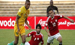 Zimbabwe 2-4 Egypt