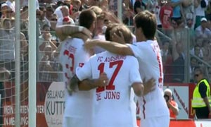 Augsburg 1-0 AS Monaco