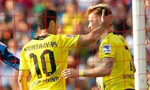 Basel 1-3 Borussia Dortmund