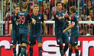 Bayern Munich 2-0 Sao Paulo (Audi Cup 2013)