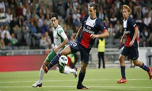Hammarby 0-2 Paris Saint-Germain