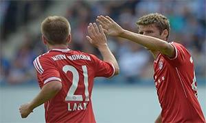 Hansa Rostock 0-4 Bayern Munich