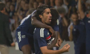 Lyon 1-0 Grasshoppers (3rd Qualification)