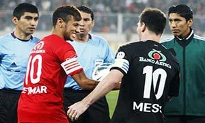 Messi XI 8-5 Neymar XI