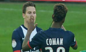 Rapid Wien 1-2 Paris Saint-Germain