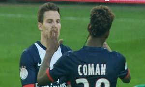 Rapid Wien 1-2 Paris Saint-Germain