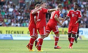 Sonnenhof Grossaspach 0-6 Bayern Munich