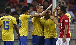 Urawa Red Diamonds 1-2 Arsenal