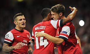 Arsenal 2-0 Fenerbahce (Play Offs)