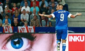 Austria 0-2 Greece