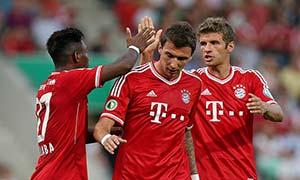 BSV Rehden 0-5 Bayern Munich