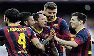Barcelona 7-0 Levante