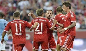 Bayern Munich 2-1 Manchester City (Audi Cup 2013)