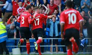 Cardiff City 3-2 Manchester City