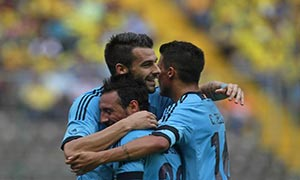 Ecuador 0-2 Spain