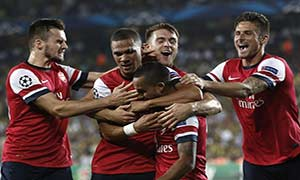 Fenerbahce 0-3 Arsenal (Play-offs)