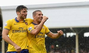 Fulham 1-3 Arsenal