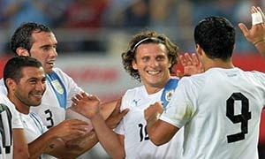 Japan 2-4 Uruguay