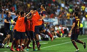 Malaga 0-1 Barcelona