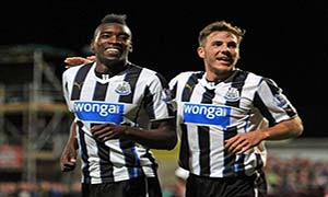 Morecambe 0-2 Newcastle United