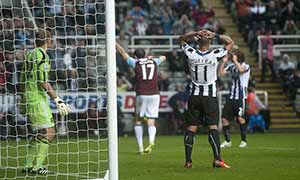 Newcastle United 0-0 West Ham United
