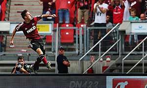 Nurnberg 2-2 Hertha Berlin
