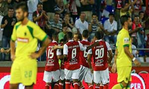 Pacos de Ferreira 0-2 Sporting Braga