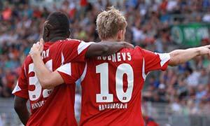 Schott Jena 0-4 Hamburger SV
