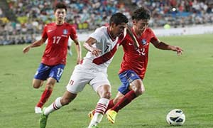 South Korea 0-0 Peru