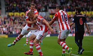 Stoke City 2-1 Crystal Palace
