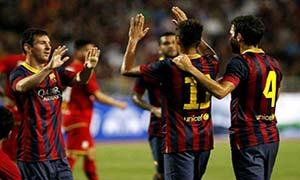 Thailand 1-7 Barcelona