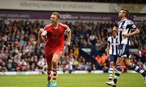 West Bromwich Albion 0-1 Southampton