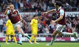 West Ham United 2-0 Cardiff City